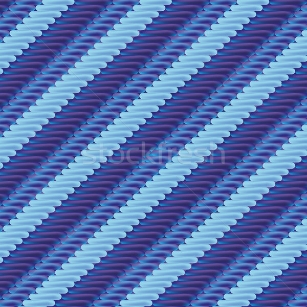 Fabric with blue stripe pattern Stock photo © Ustofre9