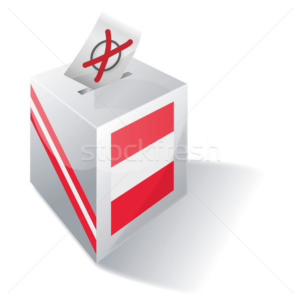 Ballot box Austria Stock photo © Ustofre9