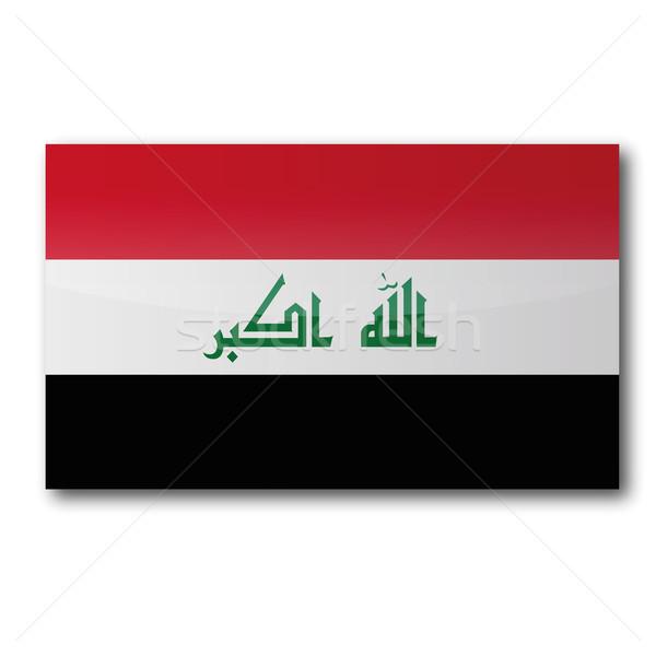 Button Iraq Stock photo © Ustofre9