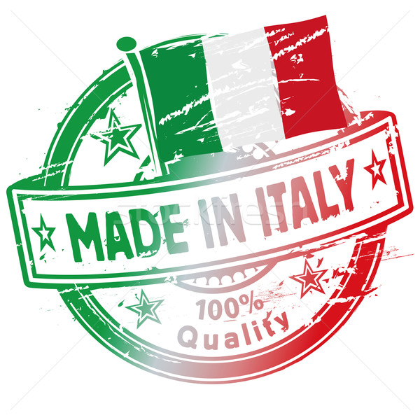 Stempel_Made_in_Italy Stock photo © Ustofre9