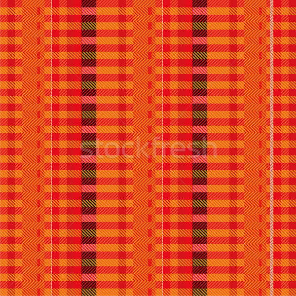 Fabric with red pinstripes Stock photo © Ustofre9