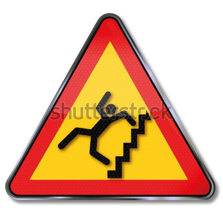 Sign child, toddler, nausea and drug abuse Stock photo © Ustofre9