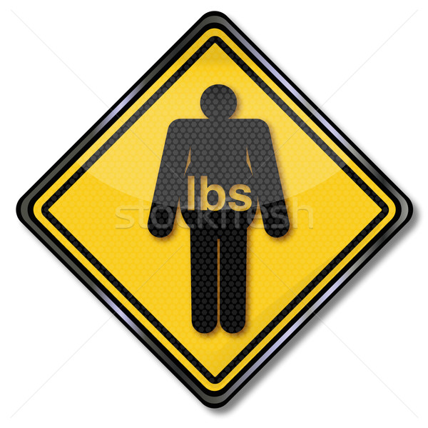 Sign overweight and obesity  Stock photo © Ustofre9