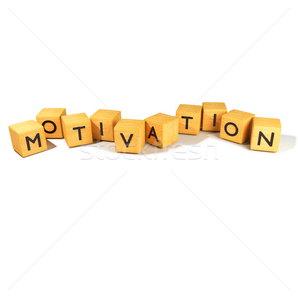 Kocka motiváció iroda fa kapcsolat levél Stock fotó © Ustofre9