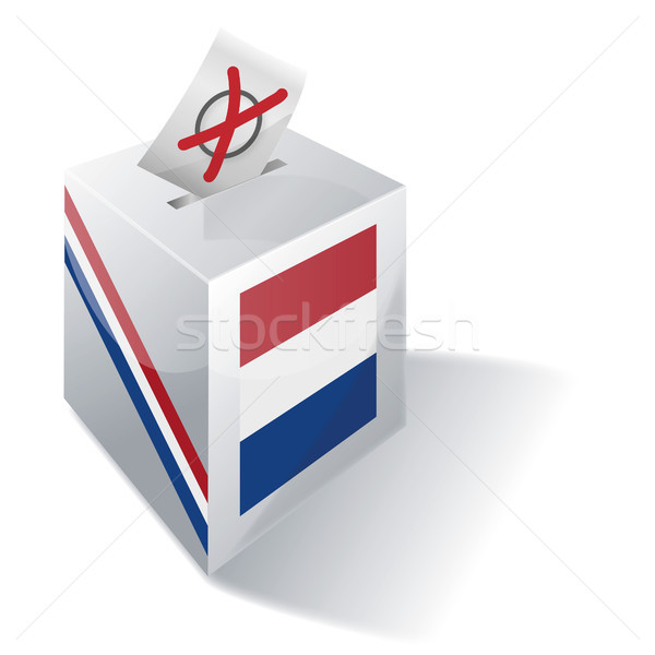 Ballot box Netherlands Stock photo © Ustofre9