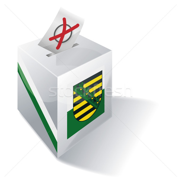 Ballot box Saxony Stock photo © Ustofre9