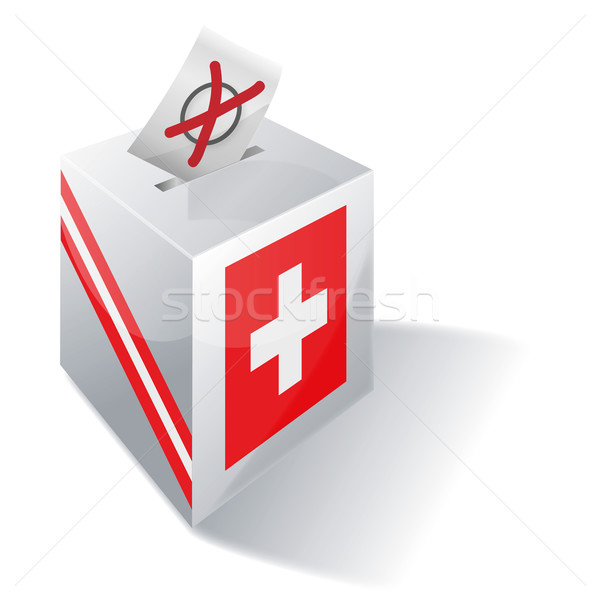 Ballot box Switzerland Stock photo © Ustofre9