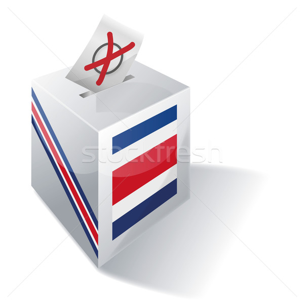 Ballot box Costa Rica  Stock photo © Ustofre9