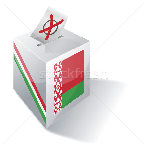 Ballot box Belarus Stock photo © Ustofre9