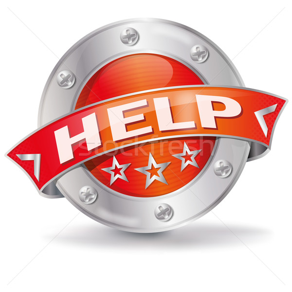 Help button  Stock photo © Ustofre9