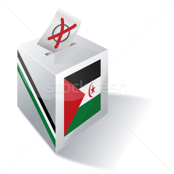 Ballot box Western Sahara Stock photo © Ustofre9