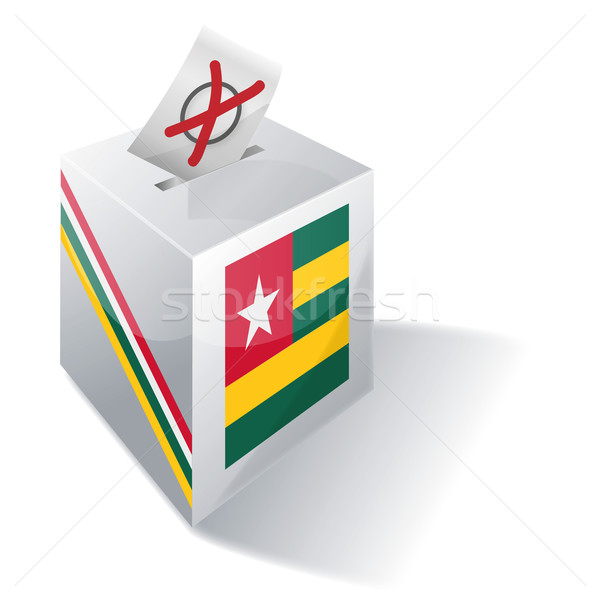 Ballot box Togo Stock photo © Ustofre9