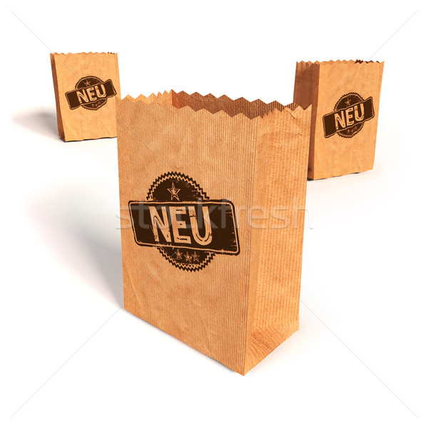 Paper bags with new  Stock photo © Ustofre9