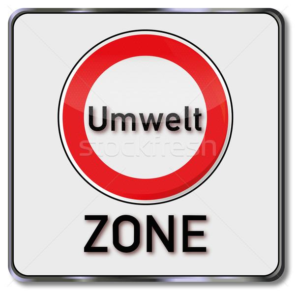 Sign emission zone Stock photo © Ustofre9