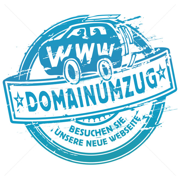 Rubber stamp domain transfer and www  Stock photo © Ustofre9