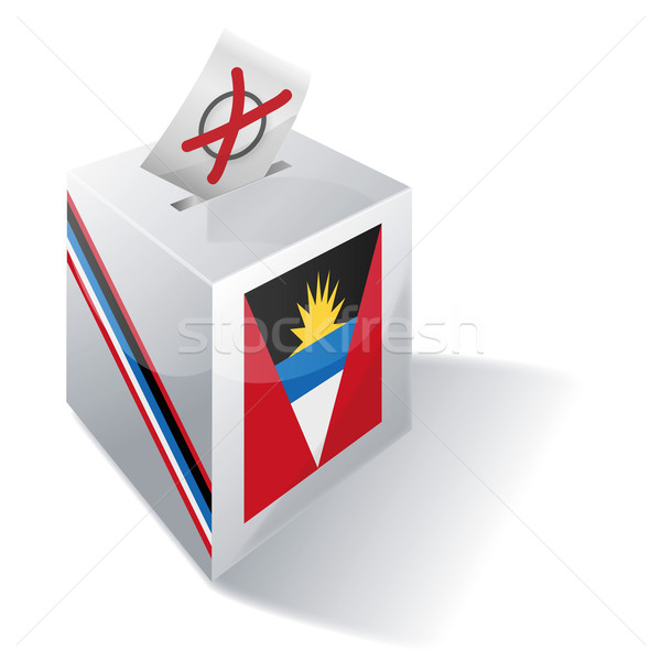 Ballot box Antigua and Barbuda Stock photo © Ustofre9