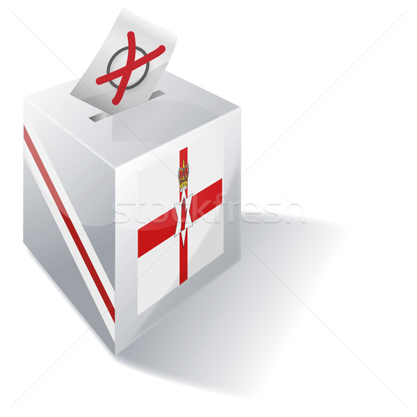 Ballot box of Northern Ireland and vote Stock photo © Ustofre9