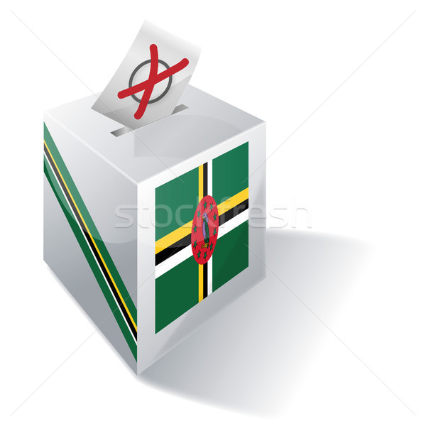 Ballot box Dominica Stock photo © Ustofre9
