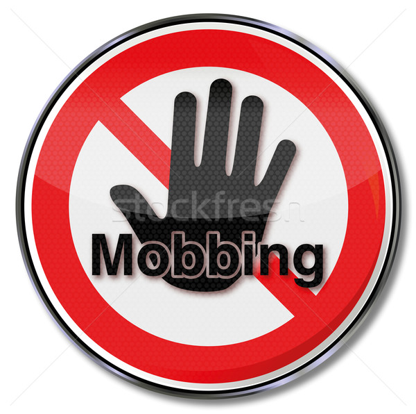 Prohibition sign here there is no bullying Stock photo © Ustofre9
