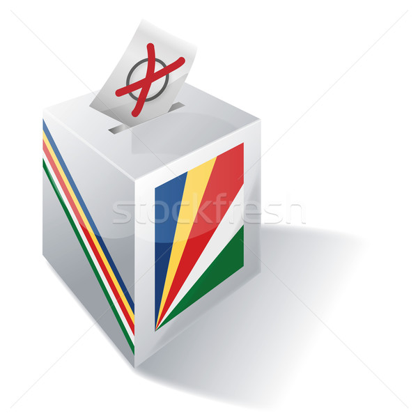 Ballot box Seychelles Stock photo © Ustofre9