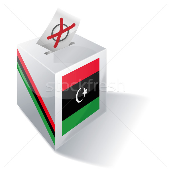 Ballot box Libya Stock photo © Ustofre9