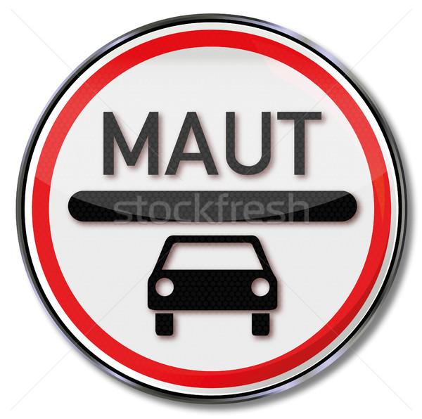 車 トール 道路標識 旅行 法 トラフィック ストックフォト © Ustofre9