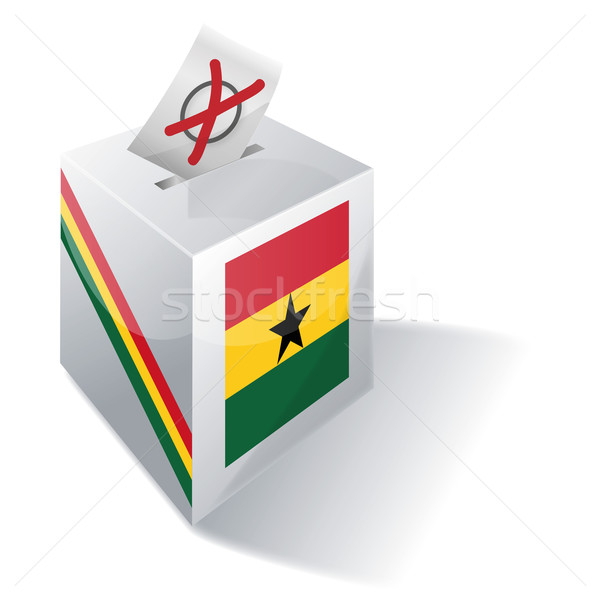 Ballot box Ghana Stock photo © Ustofre9