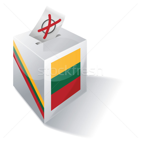 Ballot box Lithuania Stock photo © Ustofre9
