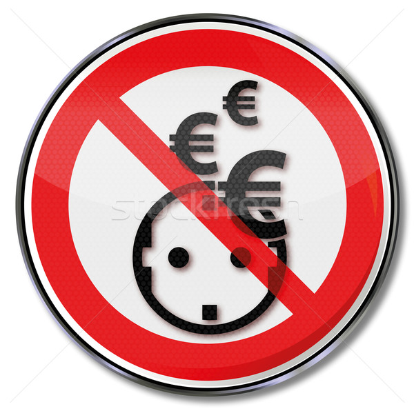 Sign, Euro, electricity, save power and energy systems Stock photo © Ustofre9