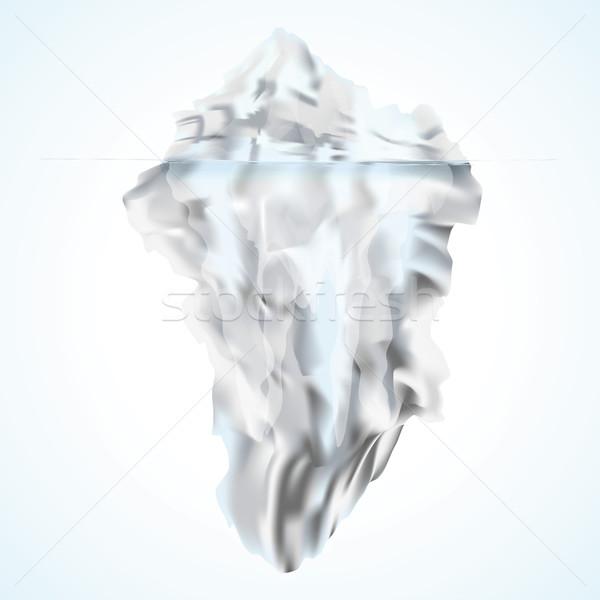 白 氷山 ビジネス 紙 デザイン 技術 ストックフォト © Ustofre9