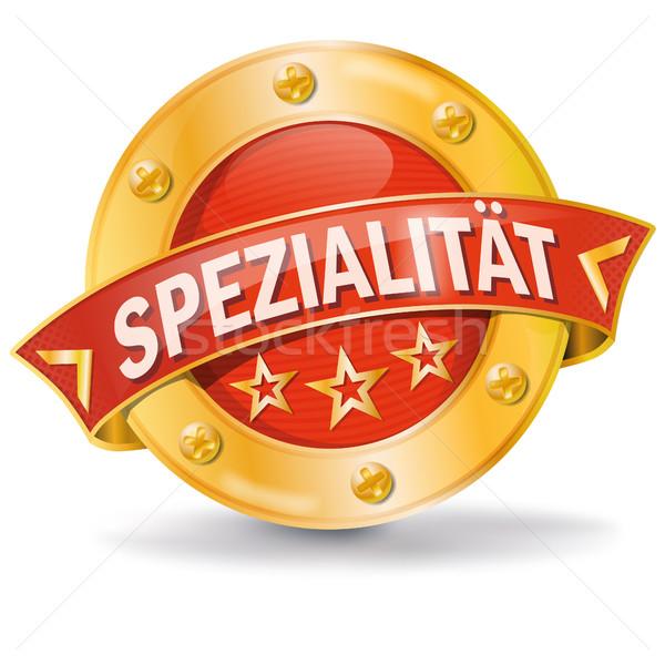 Botón especialidad Internet compras poder comercialización Foto stock © Ustofre9