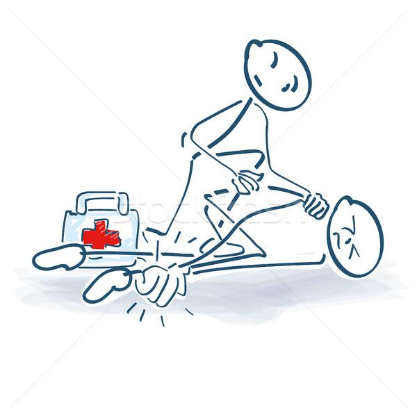 けが 医療 ヘルプ スポーツ 訓練 ストックフォト © Ustofre9