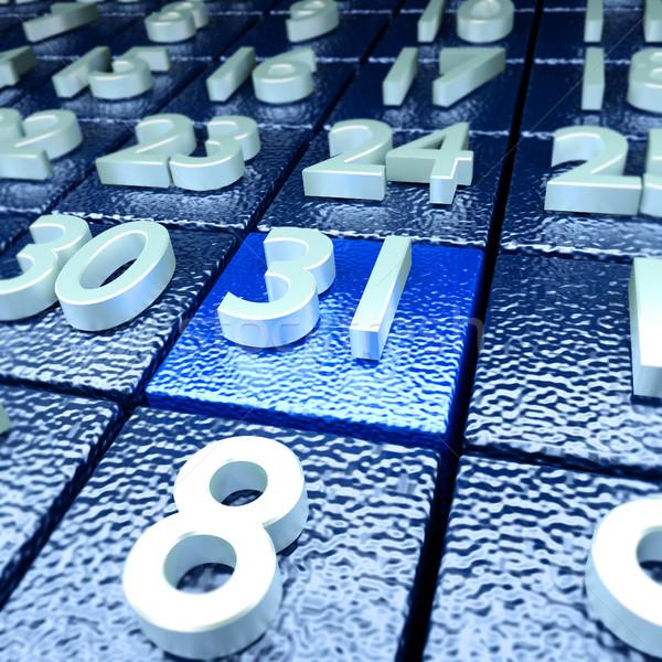 Calendario día nombramiento escuela maestro libertad Foto stock © Ustofre9