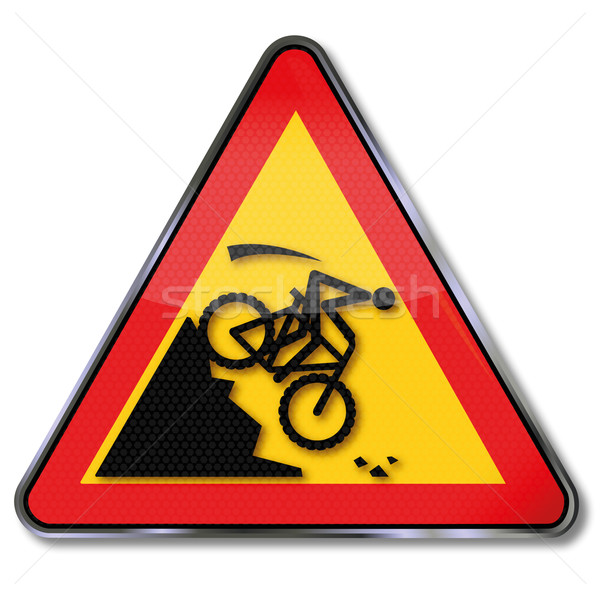 Helling mountainbike crash fiets leuk Stockfoto © Ustofre9