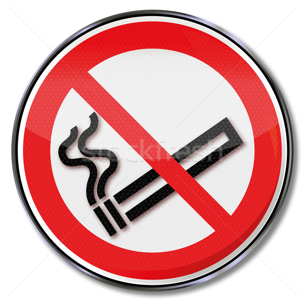 Prohibition sign no smoking  Stock photo © Ustofre9