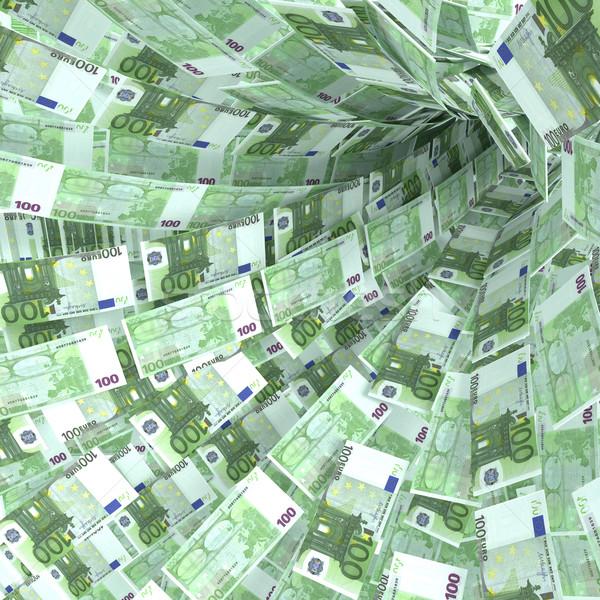 Soldi vortice 100 euro note sicurezza Foto d'archivio © Ustofre9