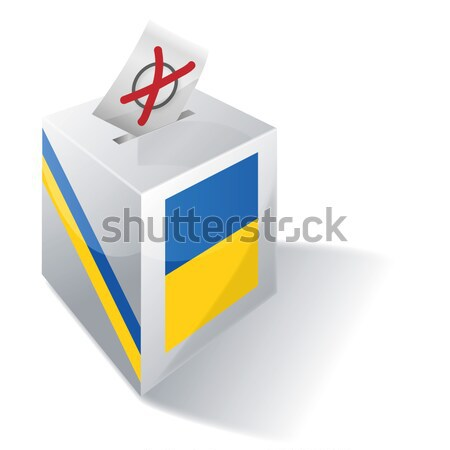 Ballot box South Africa Stock photo © Ustofre9