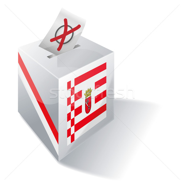 Ballot box Bremen  Stock photo © Ustofre9