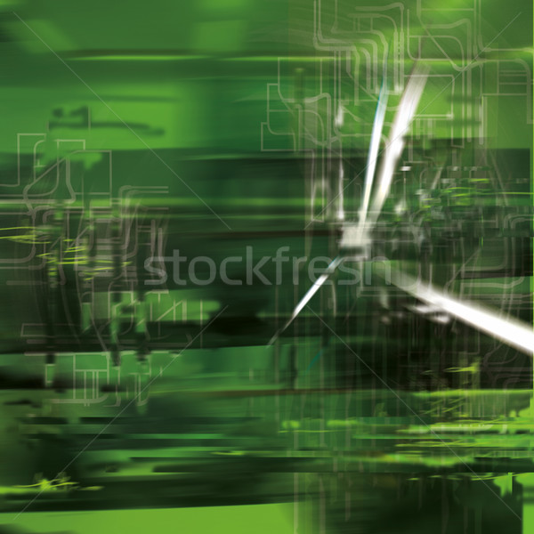 Abstract background with blurred green  Stock photo © Ustofre9