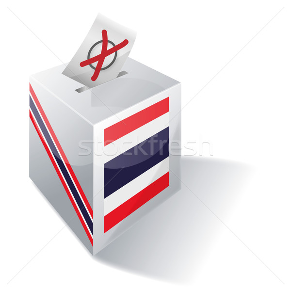 Ballot box Thailand Stock photo © Ustofre9