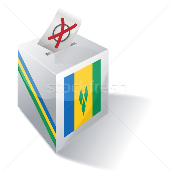 Stock photo: Ballot box St. Vincent and the Grenadines