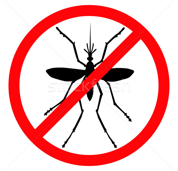 Stock photo: Stop mosquito