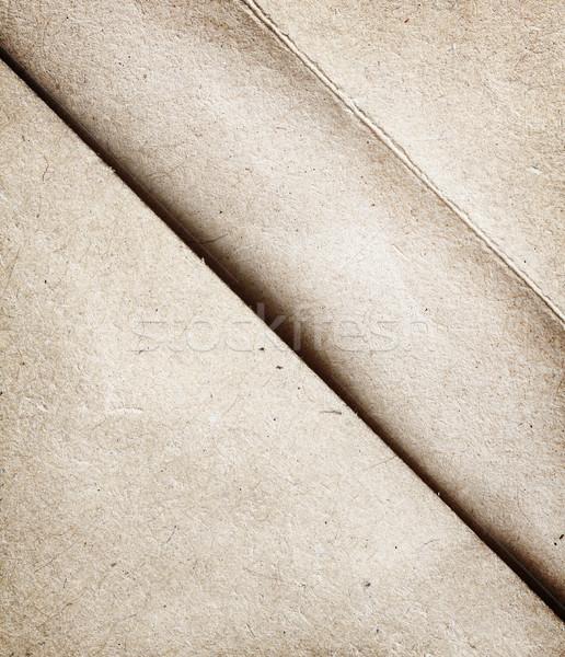 удивление открытых конверт бумаги текстуры Сток-фото © vadimmmus