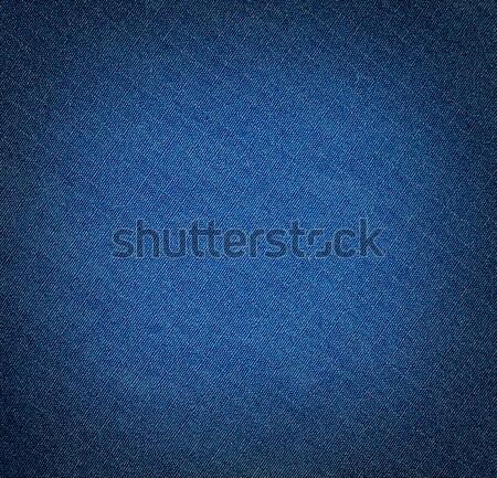 Szövet textúra sötét kék ruházat divat Stock fotó © vadimmmus