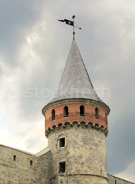 башни замок стены войны каменные цвета Сток-фото © vadimmmus