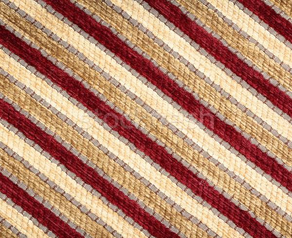 Csíkos szövet textúra ruházat közelkép absztrakt Stock fotó © vadimmmus