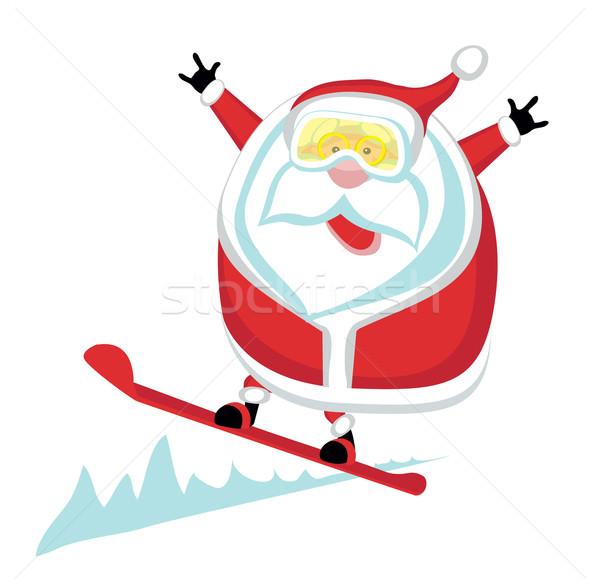 Extreme Cartoon сноуборд отдельный Сток-фото © vadimmmus