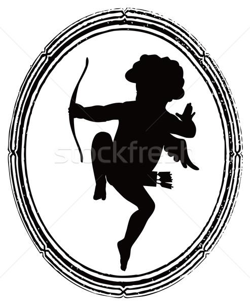 Cupid outline Stock photo © vadimmmus