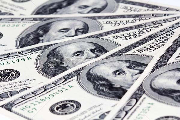 Dólares americano cien fondo Foto stock © vadimmmus