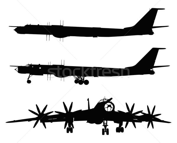 Tu-95 Bear Stock photo © vadimmmus